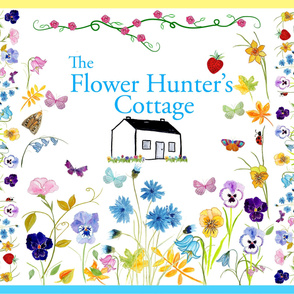 The Flower Hunter's Cottage Quilt
