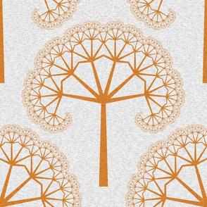 TreeLinens - orange