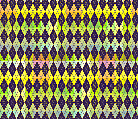 Argyle de Mardi Gras - Bright fabric by glimmericks on Spoonflower - custom fabric