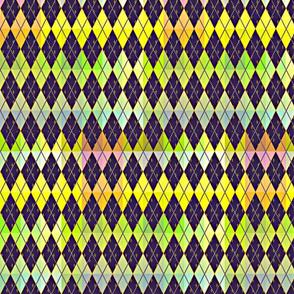 Argyle de Mardi Gras - Bright