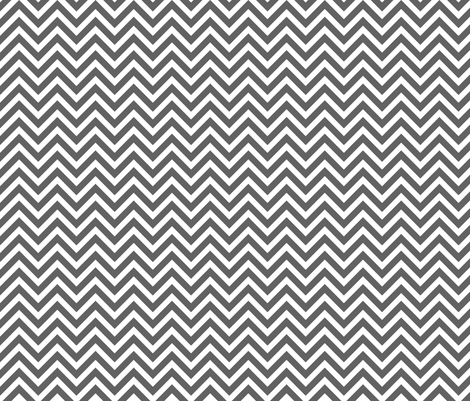 Charcoal Gray Chevron