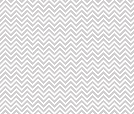 Light Gray Chevron fabric by sweetzoeshop on Spoonflower - custom fabric