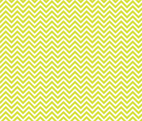Lime Green Chevron fabric by sweetzoeshop on Spoonflower - custom fabric