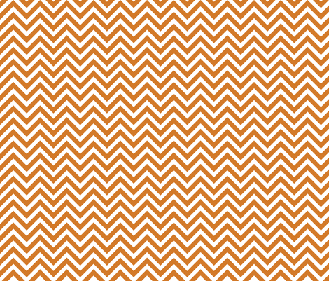 Burnt Orange Chevron
