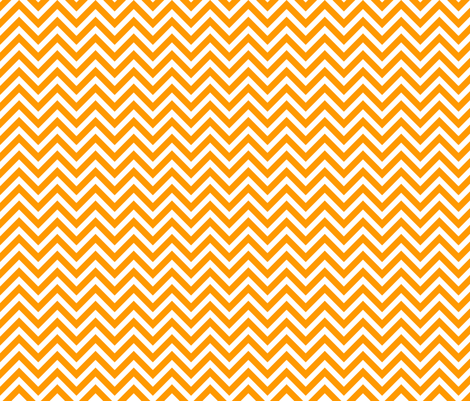Orange Chevron fabric by sweetzoeshop on Spoonflower - custom fabric