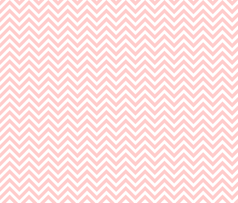 Light Pink Chevron fabric by sweetzoeshop on Spoonflower - custom fabric