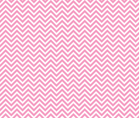 Bubblegum Pink Chevron fabric by sweetzoeshop on Spoonflower - custom fabric