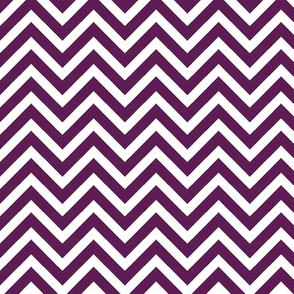 Plum Purple Chevron
