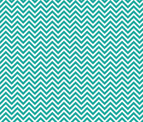 Teal Chevron Wallpaper Sweetzoeshop Spoonflower