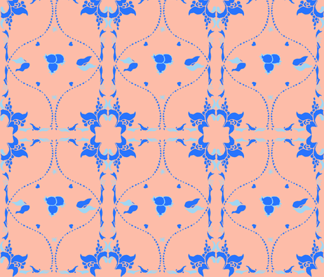 Macedonia Blue fabric by a_designs on Spoonflower - custom fabric