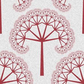 TreeLinens - Red