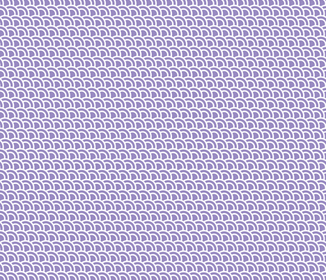 Small double scales in dusty mauve - skewed - small 685 fabric by little_fish on Spoonflower - custom fabric