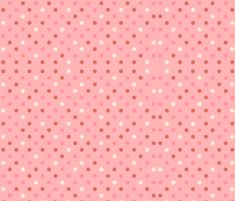LOVE DOTS fabric by bluevelvet on Spoonflower - custom fabric