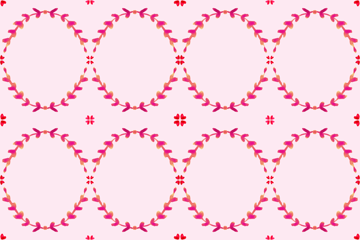 cestlaviv_laurel blush fabric by cest_la_viv on Spoonflower - custom fabric