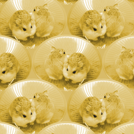 Hamsters fabric by pond_ripple on Spoonflower - custom fabric