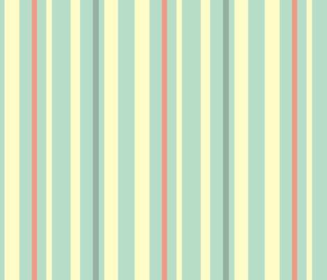 Antique China Blue Stripes fabric by smuk on Spoonflower - custom fabric