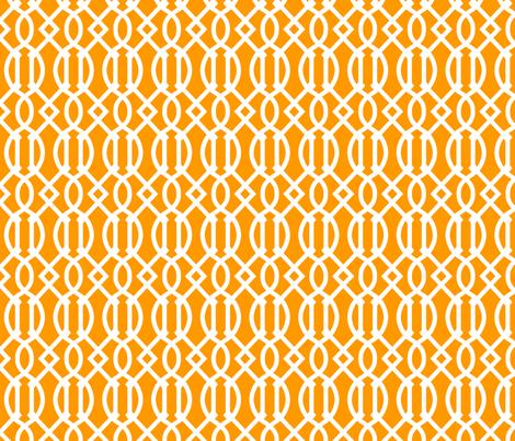 Orange Trellis
