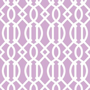 Lilac Purple Trellis