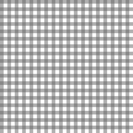 Charcoal Gray Gingham