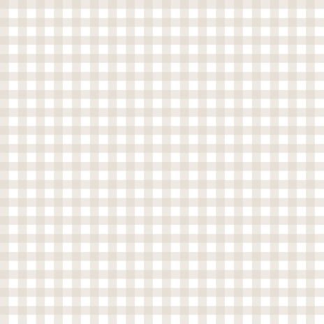 Linen Beige Gingham fabric by sweetzoeshop on Spoonflower - custom fabric