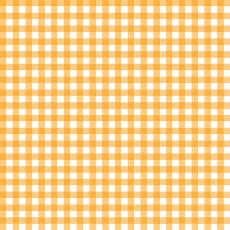 Orange Gingham fabric by sweetzoeshop on Spoonflower - custom fabric