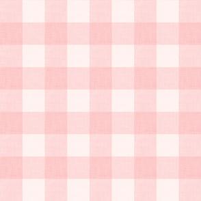 Pink Linen Gingham