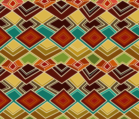 raffia fabric by scrummy on Spoonflower - custom fabric