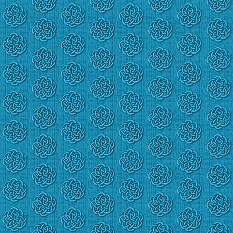 knots_-_blue fabric by glimmericks on Spoonflower - custom fabric
