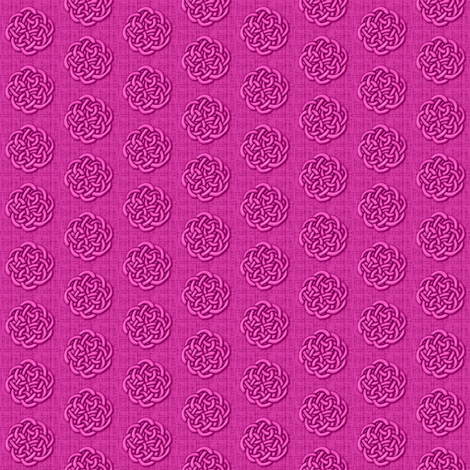 knots - pink fabric by glimmericks on Spoonflower - custom fabric