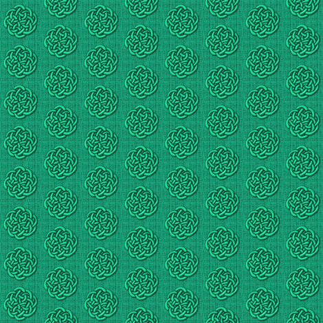 knots_-_green fabric by glimmericks on Spoonflower - custom fabric