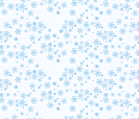 snow fabric by verderosa on Spoonflower - custom fabric