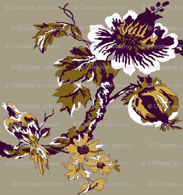 Botanical Tree / Eggplant