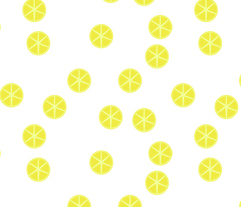 lemon fabric by verderosa on Spoonflower - custom fabric