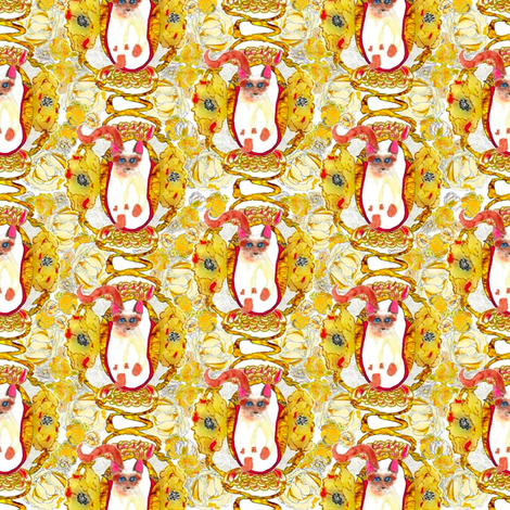 """Nouveau Again"" fabric by lionmanye on Spoonflower - custom fabric"