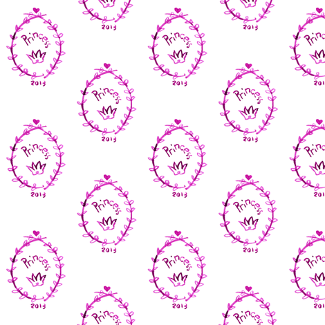 cestlaviv_for prince or princess fabric by cest_la_viv on Spoonflower - custom fabric