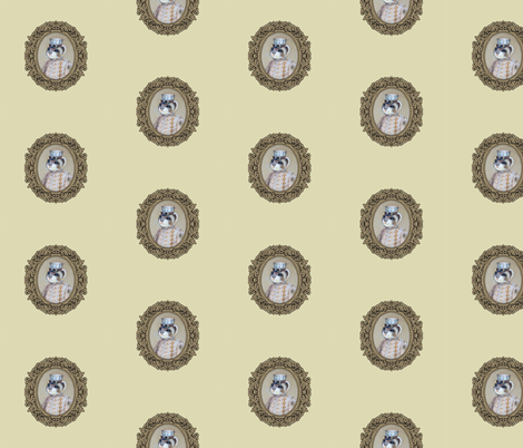 Colonel Weasel fabric by golders on Spoonflower - custom fabric