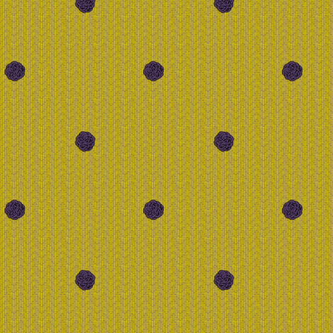fairy dots 2 on mustard fabric by glimmericks on Spoonflower - custom fabric