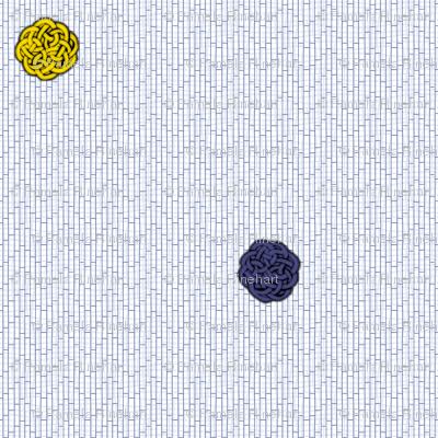 fairy dots 2 delft tiles
