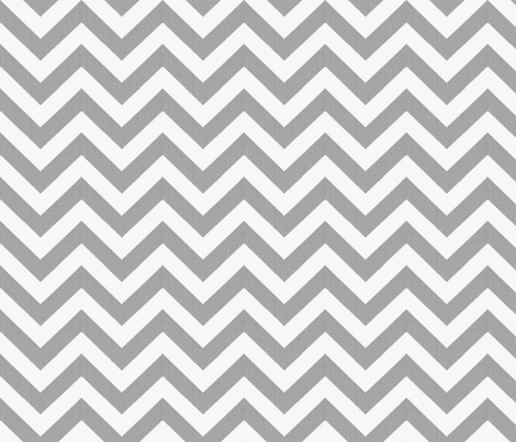 Cashmere and Snow Chevron  fabric by sparrowsong on Spoonflower - custom fabric