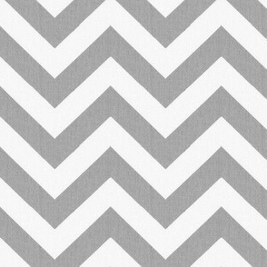 Cashmere and Snow Chevron