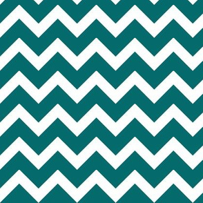 Dark Teal Chevron
