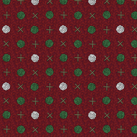 fairy_dots_Christmas fabric by glimmericks on Spoonflower - custom fabric