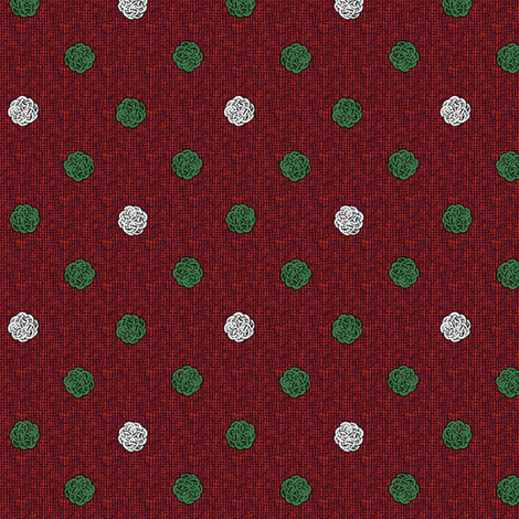 fairy_dots_3_Christmas fabric by glimmericks on Spoonflower - custom fabric