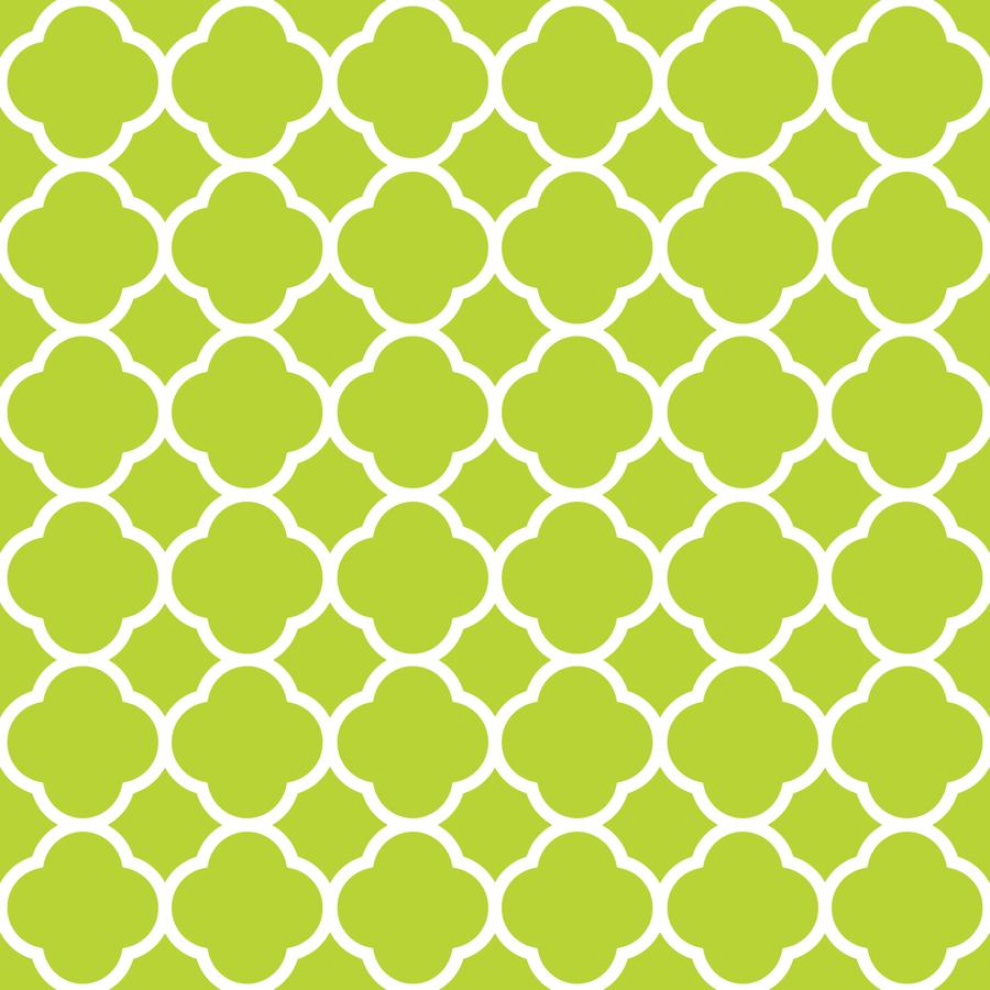 yellow quatrefoil wallpaper