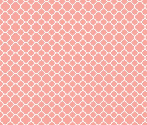 Pink Quatrefoil