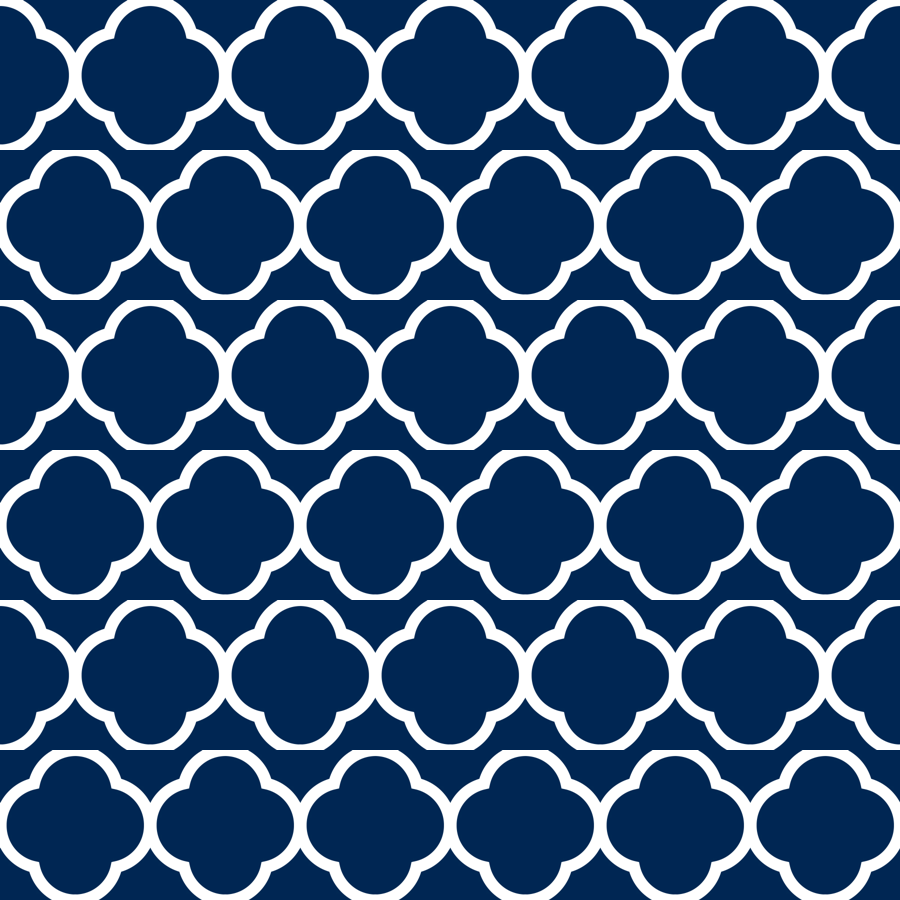 preppy pattern wallpaper navy blue quatrefoil wallpaper sweetzoeshop