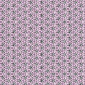 Lavender Garden Stitched Sampler 2