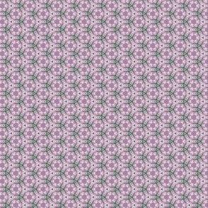 Lavender Garden Stitched Sampler 2