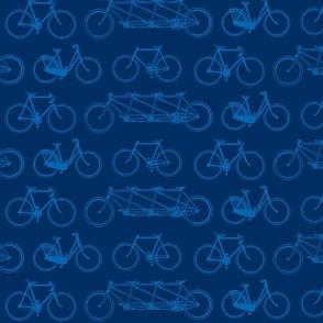 bikes-blue on blue