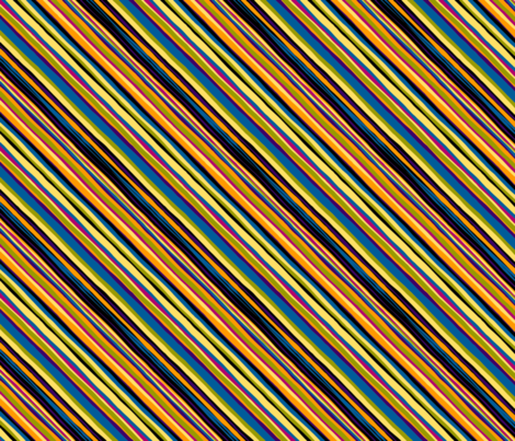 Striped Sophisticate Collection: Brady fabric by lavaguy on Spoonflower - custom fabric